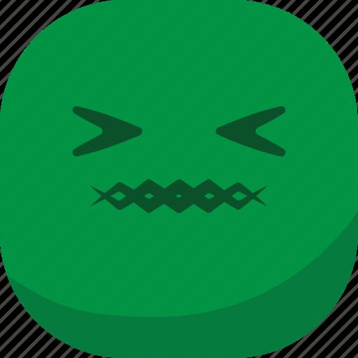 avatar, emoji, emoticon, emotion, sick, smiley icon