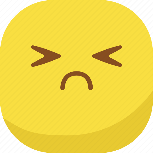 avatar, emoji, emoticon, emotion, hurt, sad, smiley icon