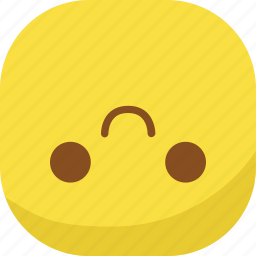 avatar, emoji, emoticon, emotion, flip, smile, smiley icon