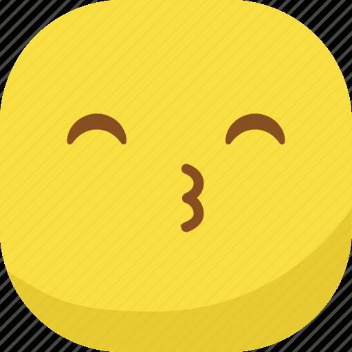 avatar, emoji, emoticon, emotion, smiley, whistle icon