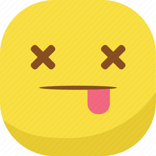 avatar, dead, die, emoji, emoticon, emotion, smiley icon