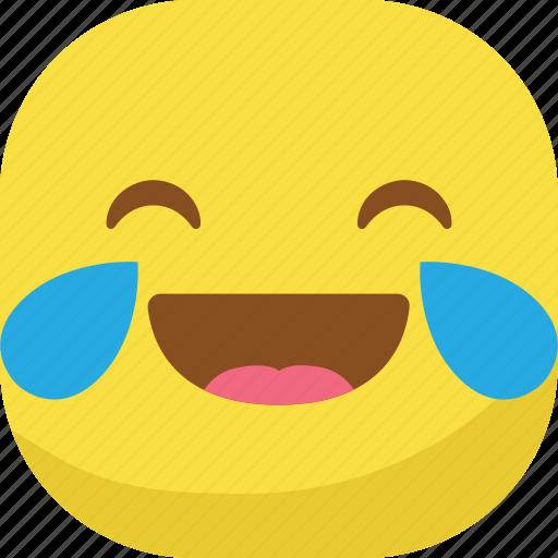 avatar, emoji, emoticon, emotion, laugh, lol, smiley icon