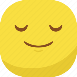 avatar, emoji, emoticon, emotion, sleep, smile, smiley icon