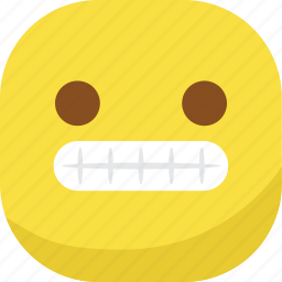 avatar, emoji, emoticon, emotion, laugh, smiley, teeth icon