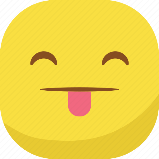 avatar, emoji, emoticon, emotion, smiley, tongue icon