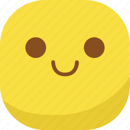avatar, emoji, emoticon, emotion, smile, smiley, smirk icon