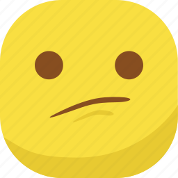 avatar, emoji, emoticon, emotion, sad, smiley, surprised icon