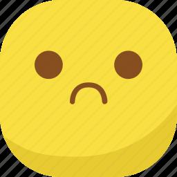 avatar, emoji, emoticon, emotion, sad, smiley icon