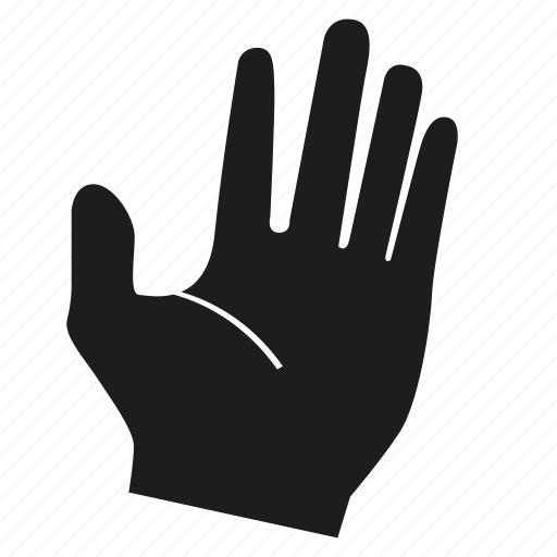 arm, beg, finger, gesture, hand, ignore, palm icon