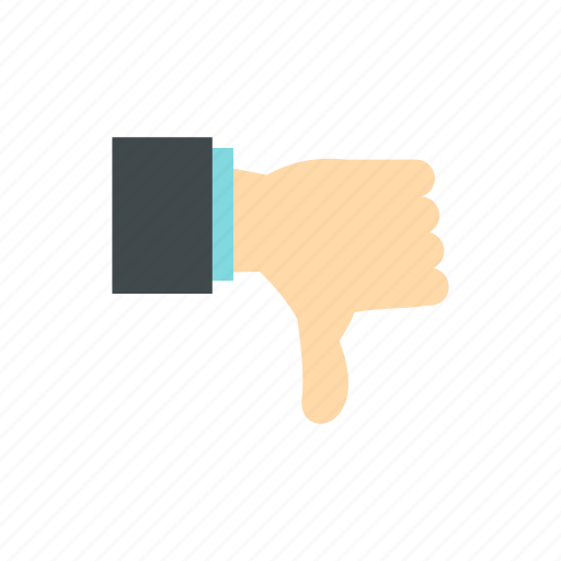 bad, down, fail, finger, gesture, suck, thumbs icon