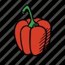 cook, cooking, eat, food, healthy, paprika, vegetable