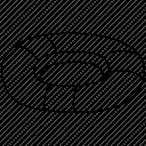 swimming, tube, tyre, wheel icon