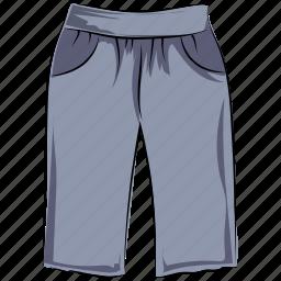 bermuda shorts, breeches, pants, shorts, summer wear, swimwear, trousers icon