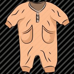 baby bodysuit, baby clothing, baby romper, bodysuit, garment, kids, romper icon