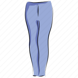 clothes, clothing, fashion, legging, pants, trousers, yoga pants icon