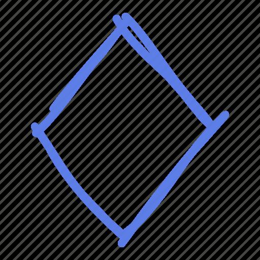 arrow, circle, delete, line, marker, smudge icon