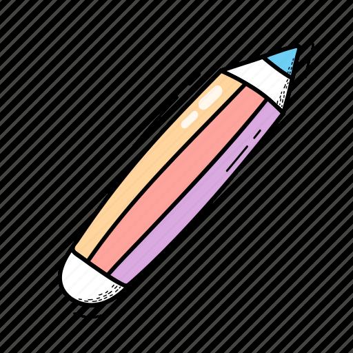drawing, edit, pencil, retro, write icon