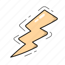 electricity, flash, light, lightning icon
