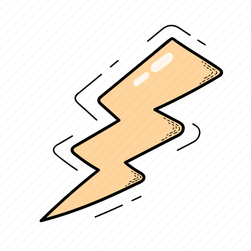 Electricity, flash, lightning, light icon - Download