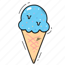 desert, food, ice cream, icecream icon