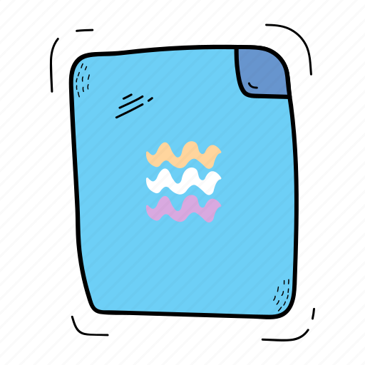 file, letter, notebook, paper icon