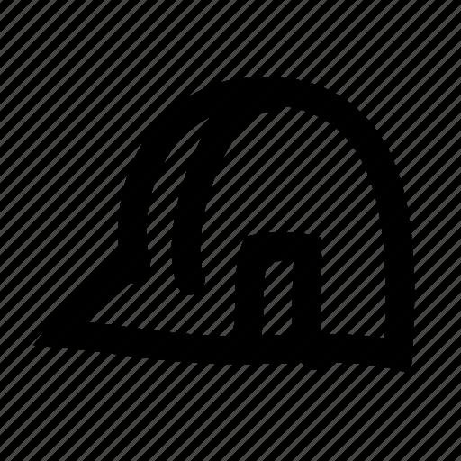 area, construction, handdrawn, hardhat, safety, work icon
