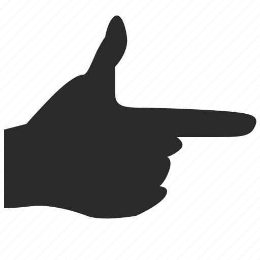 finger, gesture, hand, look, message, pointer icon