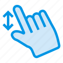 arrow, click, finger, mouse, tap, tool, touch icon