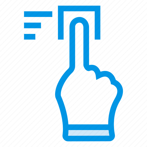 click, finger, mouse, pointer, screen, tool, touch icon