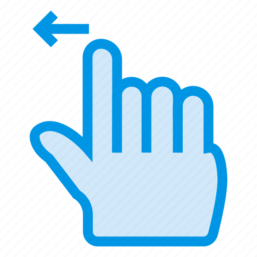 arrrow, click, finger, left, mouse, tool, touch icon