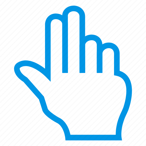 click, double, hand, pointer, tap, tool, touch icon