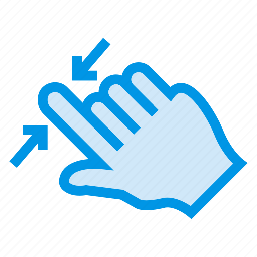finger, gesture, hand, hold, pointer, tool, touch icon