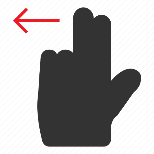 click, finger, hand, mouse, pointer, tool, touch icon