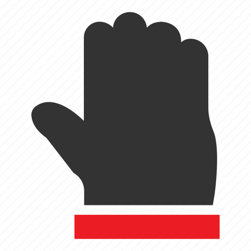 gesture, hand, hold, pointer, select, stop, touch icon