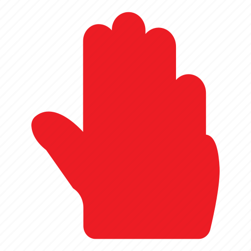 fingers, gesture, hand, hold, pointer, tap, touch icon