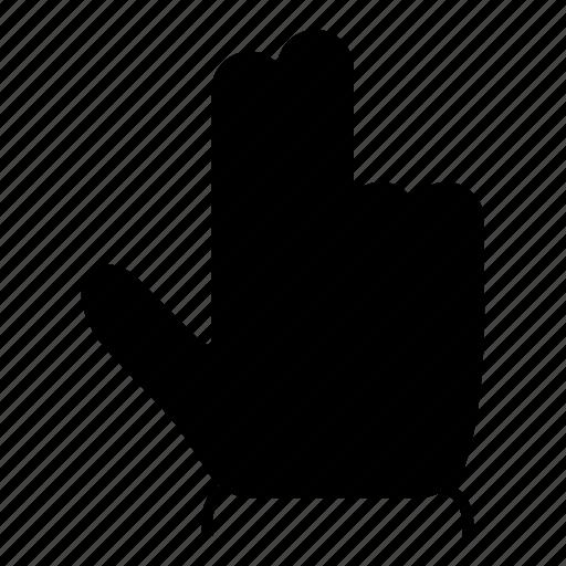 arrow, clcik, double, finger, gesture, pointer, tap icon