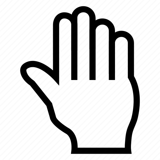 click, hand, mouse, pointer, push, tool, touch icon