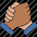 bro, handshake, harmony, homie, racial, soul, unity icon