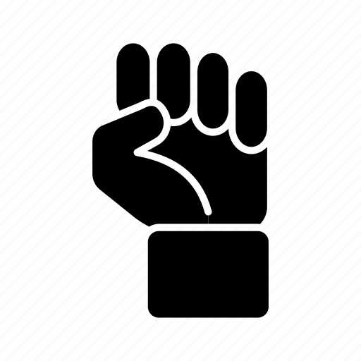 fight, fist, gesture, hand, power, punch, sign icon