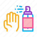 anti, bacterial, bottle, hand, spray