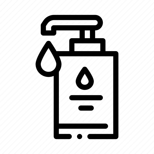 bottle, container, hygiene, soap icon