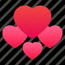 emotion, hearts, love, romantic icon