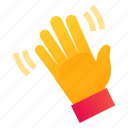 hand, hello, palm, wave icon