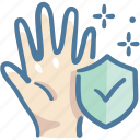 care, clean, clear, hand, healthcare, medical, washing icon