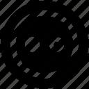 cloth accessory, cloth button, round button, sewing accessory icon icon