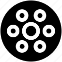 bobbin, sewing, sewing bobbin, thread, thread bobbin icon icon
