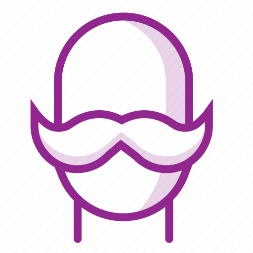 avatar, beard, face, male, man, mustache, user icon