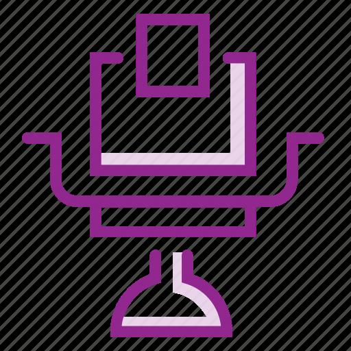 chair, desk, furniture, interior, seat, table icon