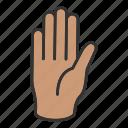 fingers, hand icon
