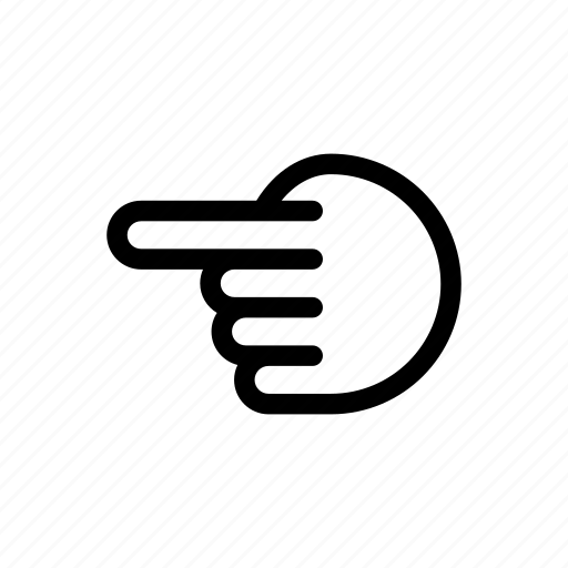 arrow, arrows, back, direction, hand, left, navigation icon